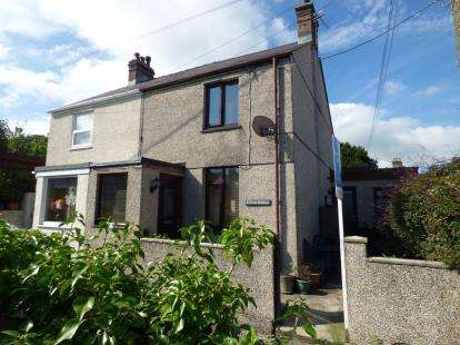 2 Bedrooms Semi Detached House for sale in Fron Heulog, Llanfairpwllgwyngyll, Anglesey, LL61