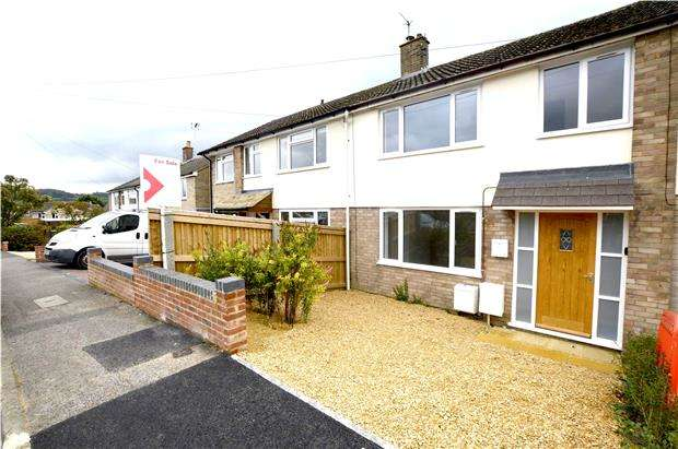 3 Bedrooms Terraced House for sale in Heathfield Road, Stroud, Gloucestershire, GL5 4DQ