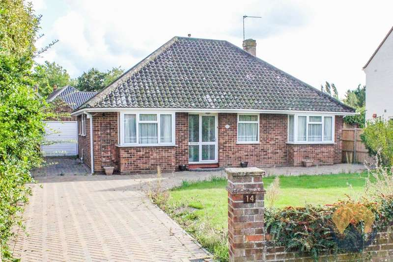 3 Bedrooms Detached Bungalow for sale in Keswick Close, Cringleford, NR4