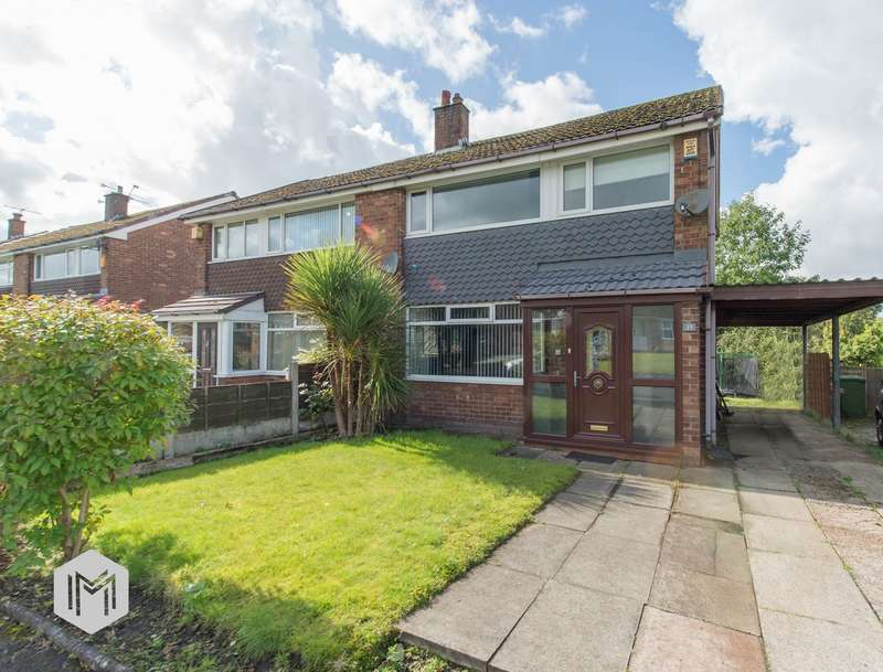 3 Bedrooms Semi Detached House for sale in Sandford Close, Bolton, BL2