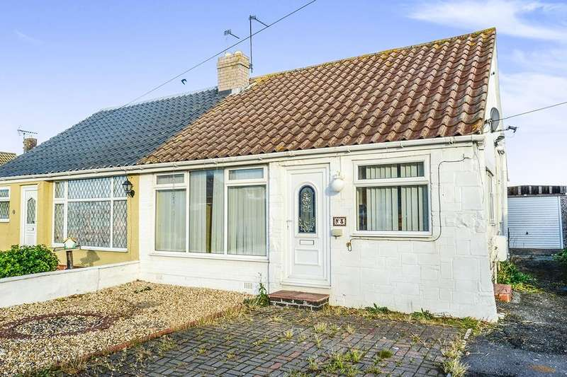 2 Bedrooms Semi Detached Bungalow for sale in Lon Y Cyll, Pensarn, Abergele, LL22