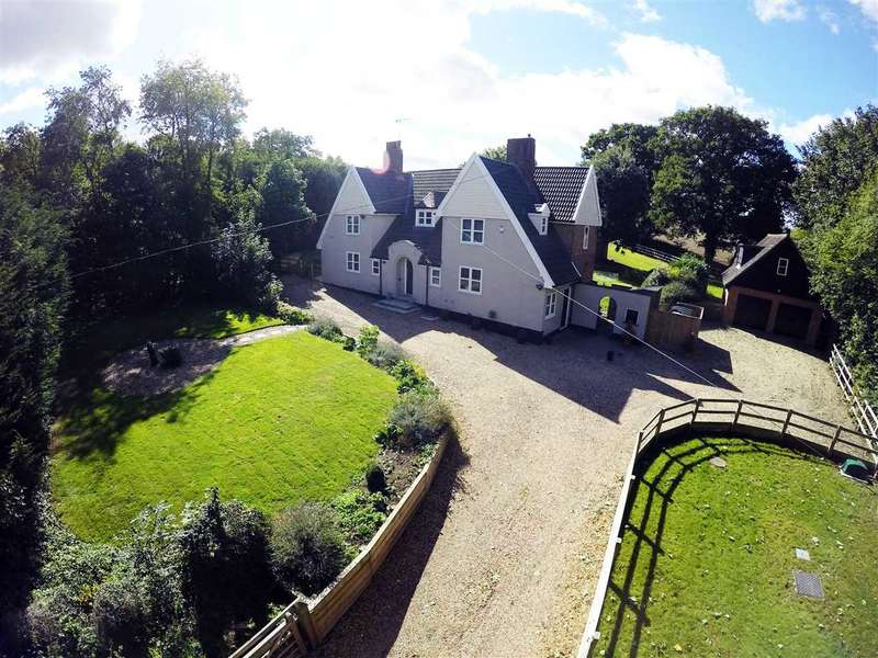5 Bedrooms Detached House for sale in The Old Rectory, Church Lane, Sproughton