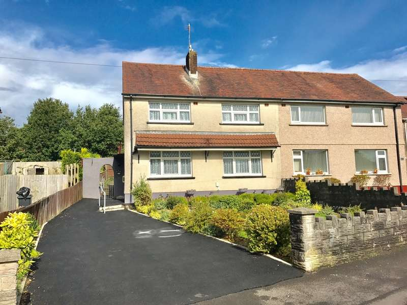 3 Bedrooms Semi Detached House for sale in Heol Y Nant, Caewern, Neath