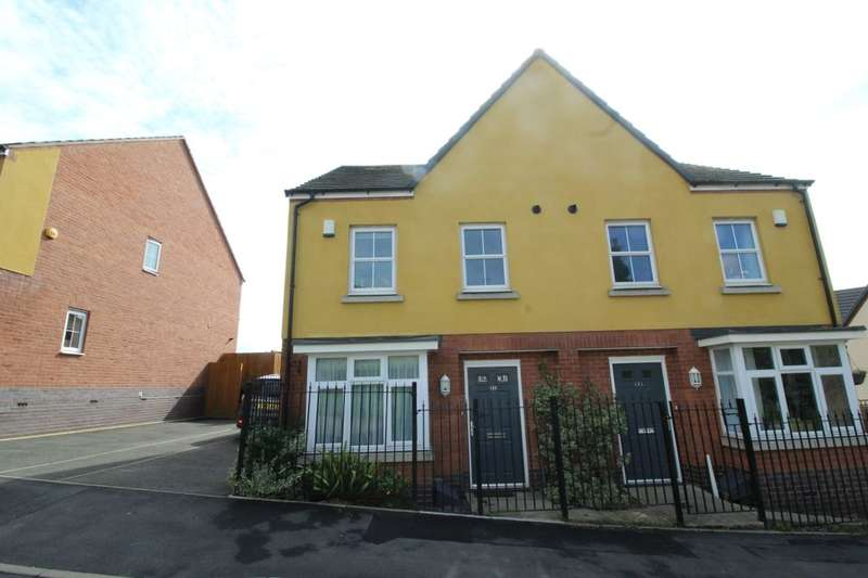 3 Bedrooms Semi Detached House for sale in Edinburgh Road, Nuneaton, CV10