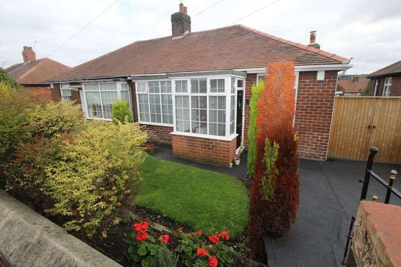 3 Bedrooms Semi Detached Bungalow for sale in Oakwood Gardens, Lobley Hill, Gateshead, NE11
