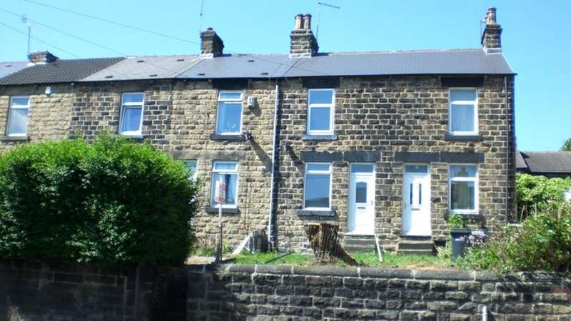 2 Bedrooms End Of Terrace House for sale in Honeywell Street, Barnsley