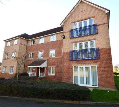 1 Bedroom Flat for sale in Barclay Grange, Wain Avenue, Chesterfield, Derbyshire