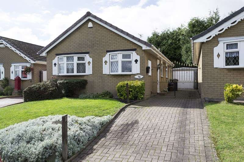 2 Bedrooms Detached Bungalow for sale in Buckingham Road, Rowley Regis