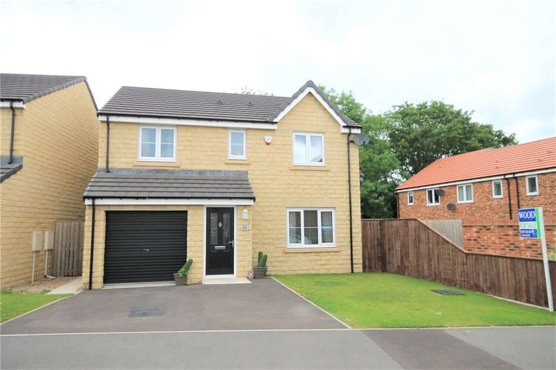 4 Bedrooms Detached House for sale in Wooler Drive, The Middles, Stanley, DH9