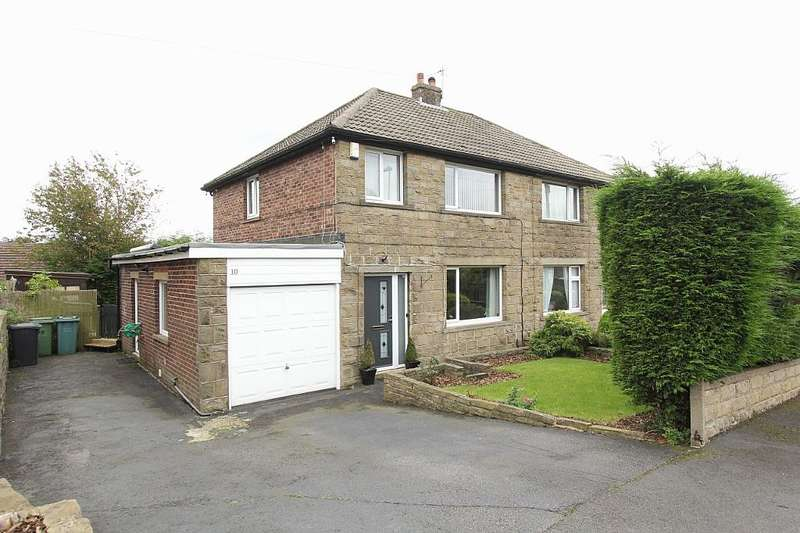 3 Bedrooms Semi Detached House for sale in Briar Avenue, Meltham, Holmfirth, West Yorkshire, HD9 5LQ