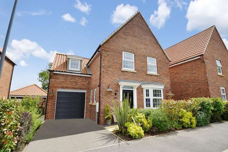 4 Bedrooms Detached House for sale in Weighbridge Close, Kirkbymoorside YO62