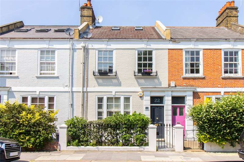4 Bedrooms Terraced House for sale in Sedlescombe Road, West Brompton, Fulham, London, SW6
