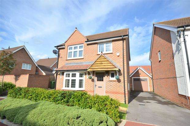 4 Bedrooms Detached House for sale in Bunting Lane, Bracknell, Berkshire