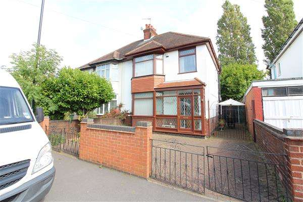 3 Bedrooms Semi Detached House for sale in Nuffiled Road, Wyken, Coventry