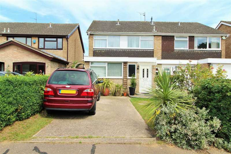 3 Bedrooms Semi Detached House for sale in Mayberry Walk, The Willows, Colchester