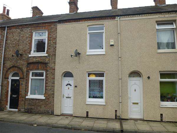 2 Bedrooms Terraced House for sale in Bismarck Street, York