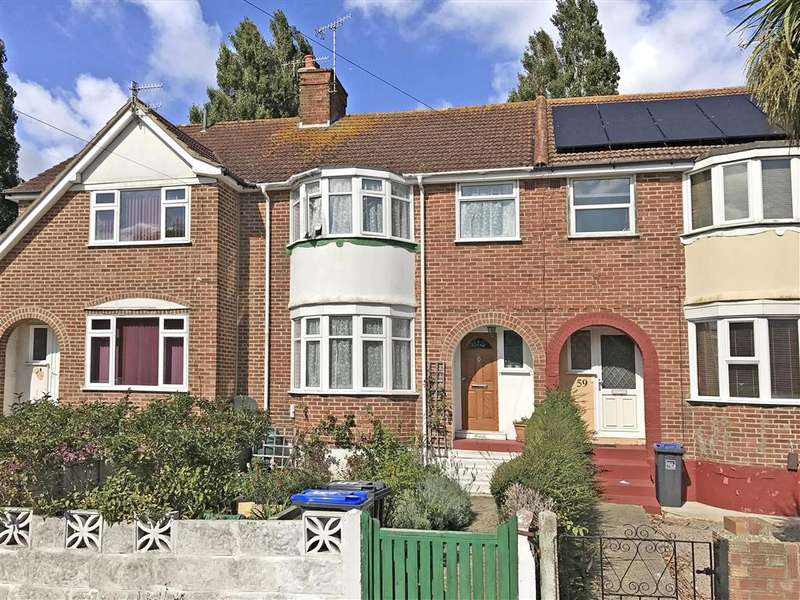 3 Bedrooms Terraced House for sale in Mansfield Road, Worthing, West Sussex