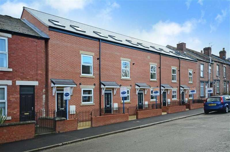 4 Bedrooms Town House for sale in 81, Tavistock Road, Nether Edge, Sheffield, S7