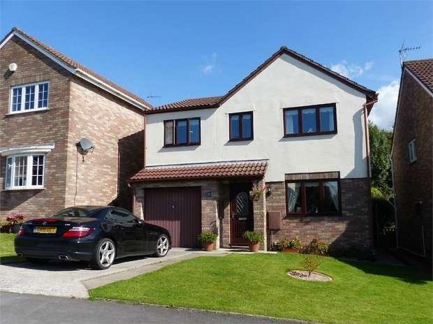 4 Bedrooms Detached House for sale in Ffordd Y Parc, Litchard, Bridgend, Mid Glamorgan