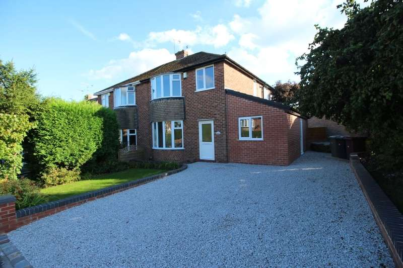 3 Bedrooms Semi Detached House for sale in Davids Drive, Wingerworth, Chesterfield, S42