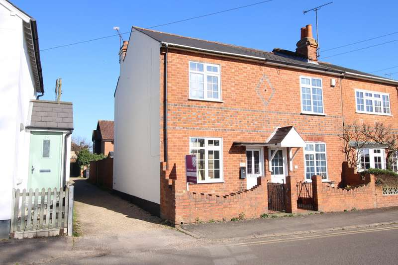 3 Bedrooms End Of Terrace House for sale in Kidmore End Road, Emmer Green, Reading, RG4