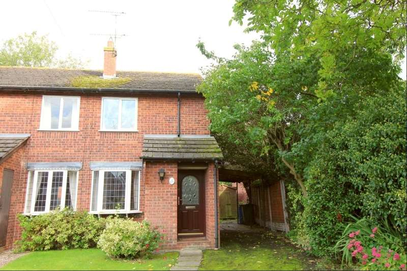 2 Bedrooms Terraced House for sale in Barnston Court, Farndon, Chester, CH3