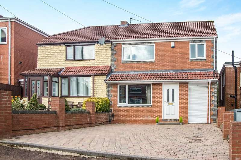 3 Bedrooms Semi Detached House for sale in Knightside Gardens, Dunston, NE11