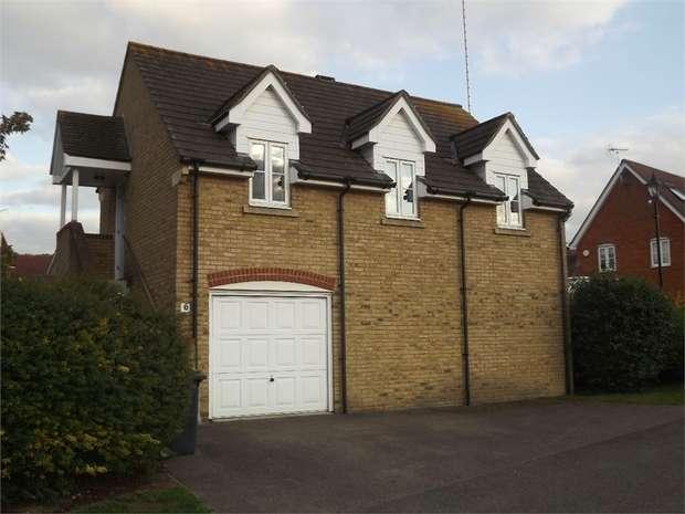 1 Bedroom Flat for sale in Garden Court, Wouldham, Rochester, Kent