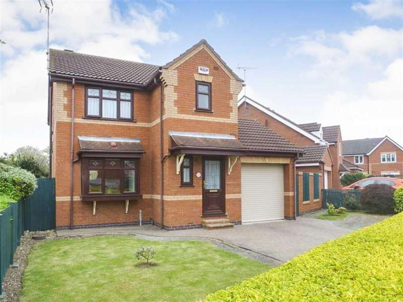 3 Bedrooms Detached House for sale in Cranberry Way, Pickering Road, Hull
