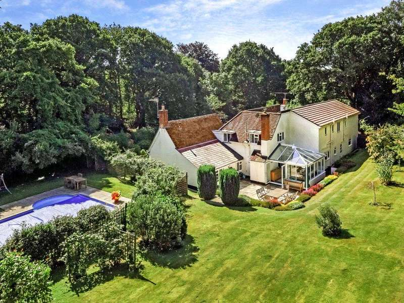 5 Bedrooms Detached House for sale in Rowe Hill, Holt, Wimborne, Dorset