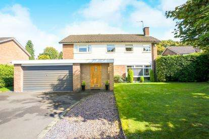 4 Bedrooms Detached House for sale in Aylesby Close, Knutsford, Cheshire