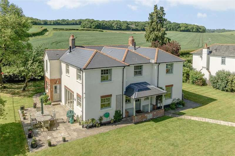 5 Bedrooms Detached House for sale in Vernham Dean, Andover, Hampshire