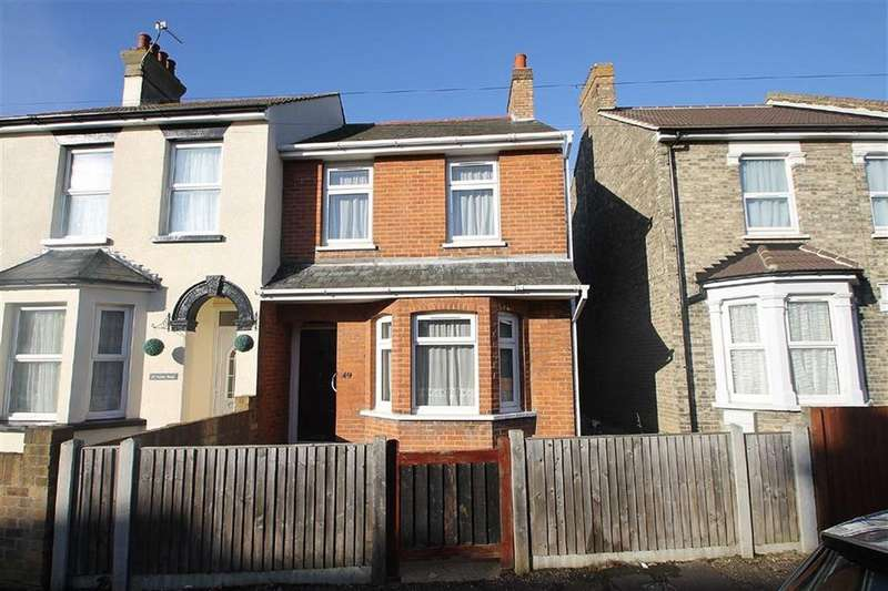 3 Bedrooms Semi Detached House for sale in Dudley Road, Clacton-on-Sea