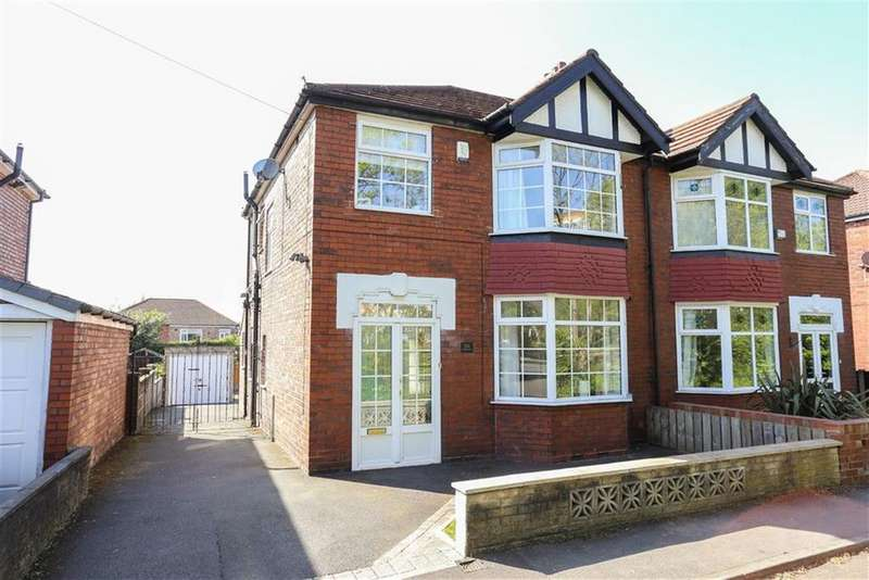 3 Bedrooms Semi Detached House for sale in Broadstone Road, Heaton Chapel