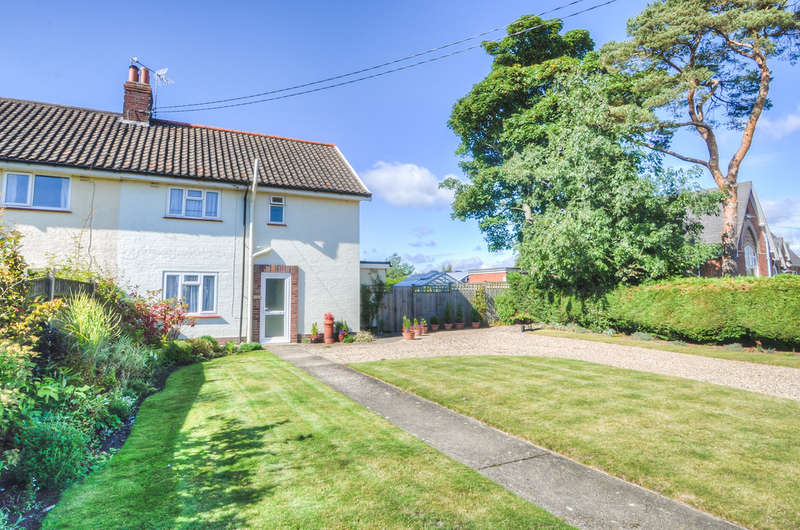 3 Bedrooms Semi Detached House for sale in Hall Road, Wenhaston
