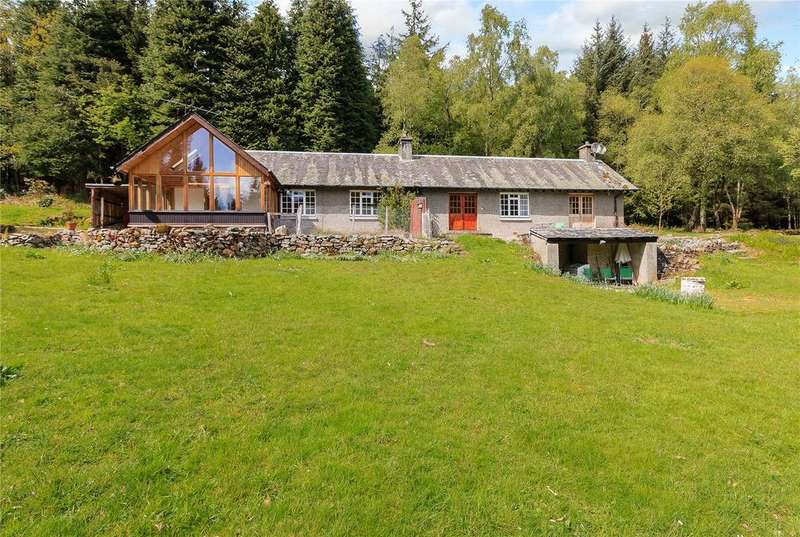 2 Bedrooms Semi Detached House for sale in Invertrossachs, Callander, Perthshire