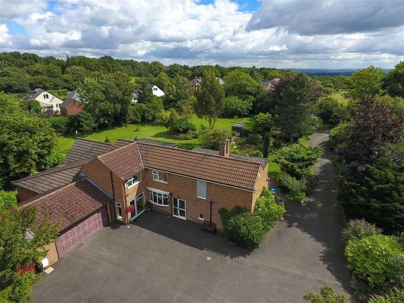 5 Bedrooms Detached House for sale in Leicester Road, Field Head, Markfield, LE67