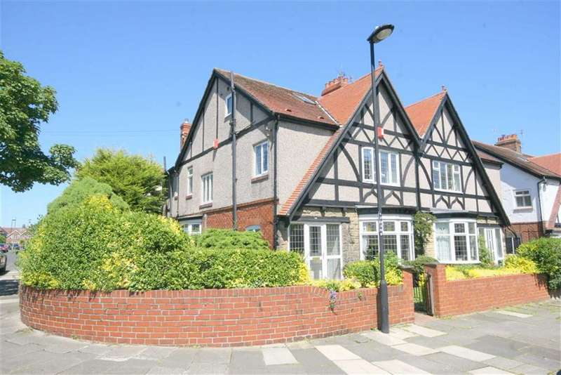 4 Bedrooms Semi Detached House for sale in Davison Avenue, Whitley Bay, Tyne And Wear, NE26