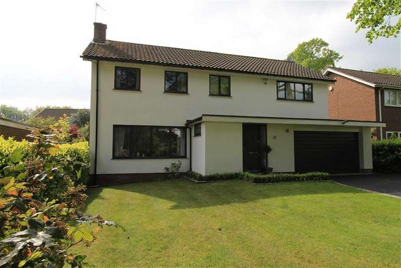 5 Bedrooms Detached House for sale in Fulshaw Park, Wilmslow