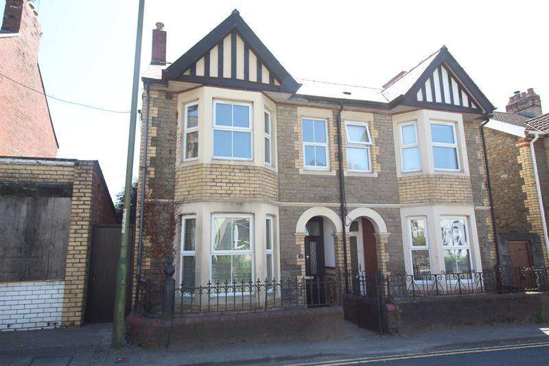 3 Bedrooms Semi Detached House for sale in Commercial Road, Machen, Caerphilly
