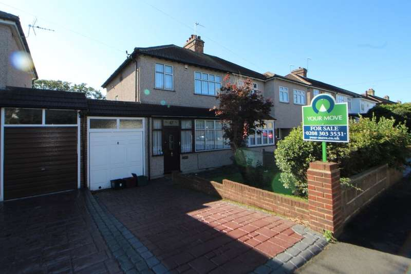 3 Bedrooms Semi Detached House for sale in Mount Road, Bexleyheath, DA6