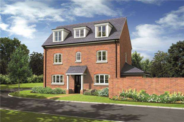 4 Bedrooms Detached House for sale in The Brambles, Basingstoke Road, Spencers Wood
