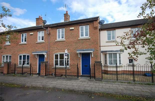 3 Bedrooms Terraced House for sale in Windmill Close, Aylesbury, Buckinghamshire