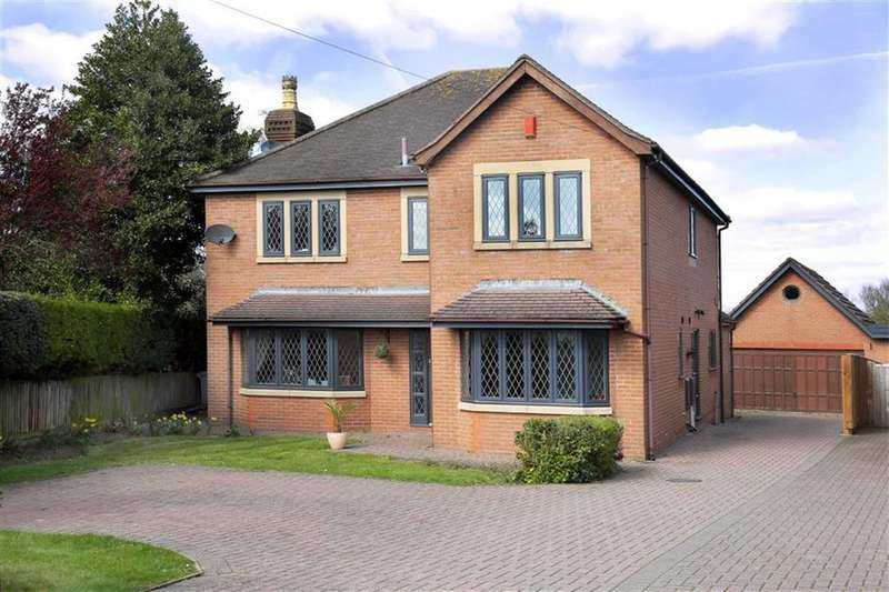 4 Bedrooms Detached House for sale in Colleys Lane, Nantwich, Cheshire