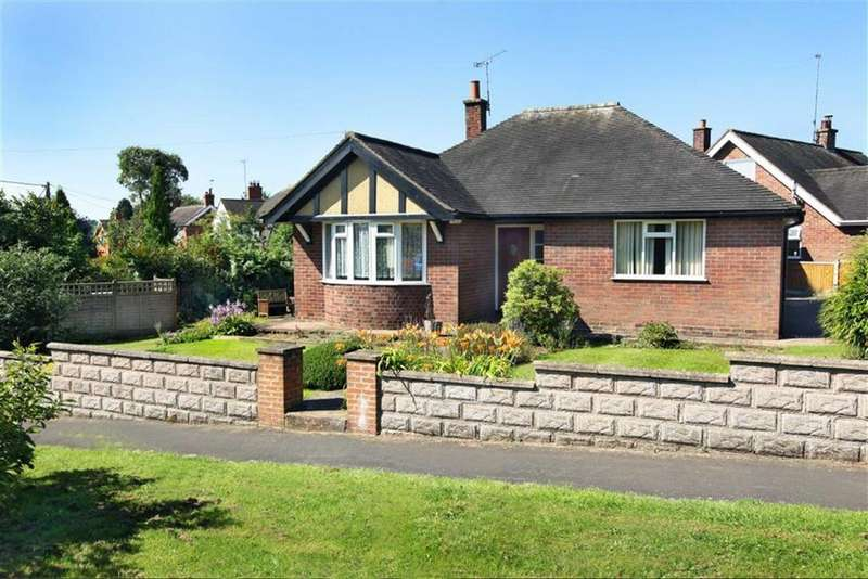 2 Bedrooms Detached Bungalow for sale in Hillary Drive, Audlem, Cheshire
