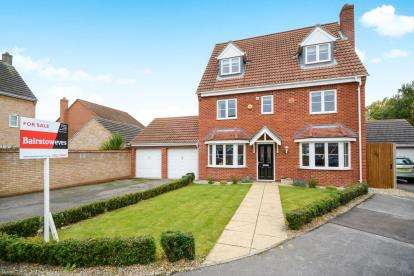 5 Bedrooms Detached House for sale in Elder Close, Witham St. Hughs, Lincoln, Lincolnshire