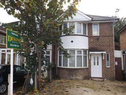 2 Bedrooms Semi Detached House for sale in Harts Road, Alum Rock, Birmingham, West Midlands