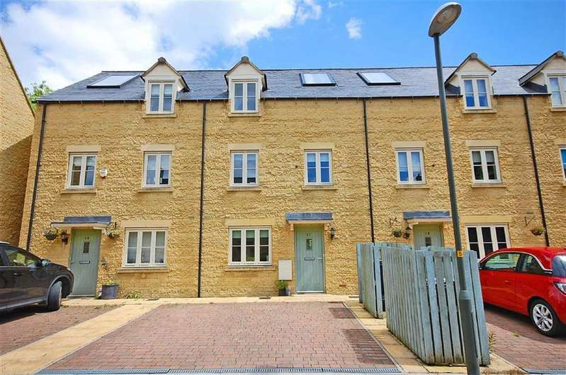 4 Bedrooms Terraced House for sale in Coln Gardens, Andoversford, Cheltenham, GL54