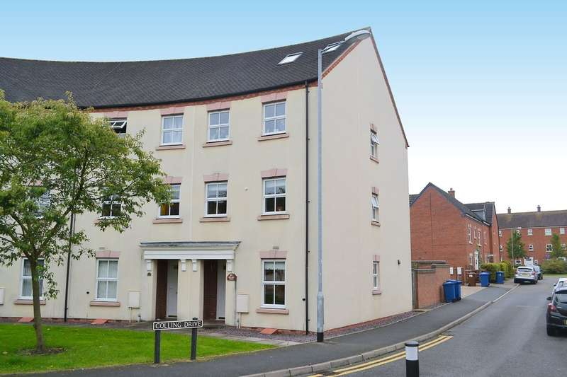 4 Bedrooms End Of Terrace House for sale in Deykin Road, Lichfield
