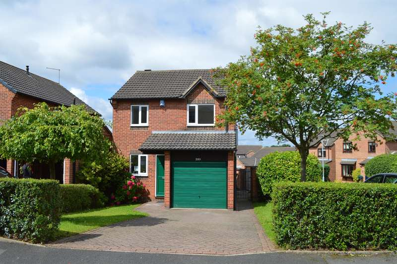 3 Bedrooms Detached House for sale in Eagle Park, Marton-in-Cleveland, Middlesbrough, TS8 9QR